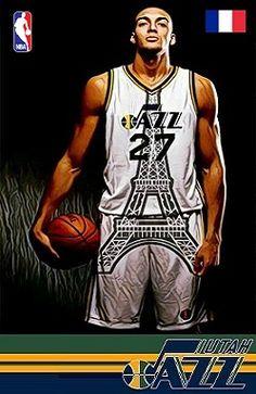Ruby Gobert. Best Nba Players, Jazz Players, Jazz Basketball, College Basketball, Donovan Mitchell, Nba Wallpapers, Utah Jazz, Wnba, My Style