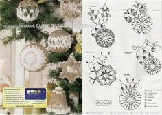 Best 12 Hello friends of free crochet. See Christmas decorations in crochet to leave his most charming Christmas – Page 852869248153275233 – SkillOfKing Crochet Christmas Decorations, Christmas Crochet Patterns, Holiday Crochet, Crochet Snowflakes, Burlap Christmas, Christmas Bells, Christmas Angels, Christmas Art, Christmas Tree Ornaments