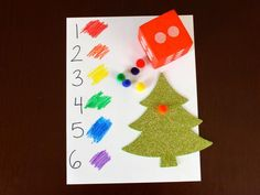 Cool project from http://www.kiwicrate.com/projects/Roll-and-Decorate-Christmas-Tree/835: Roll and Decorate Christmas Tree
