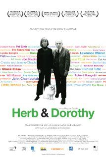 From their small NYC apartment collectors Herb and Dorothy Vogel and their huge influence on the art world. 2008