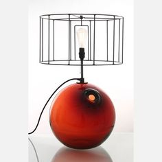 Float Table Lamp Red now featured on Fab.