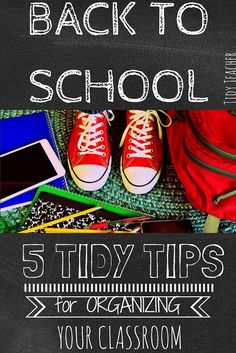 Are you trying to get organized this school year? These back to school organization tips are great for ANY grade level! Click through for more details and get ideas you can implement right away! Back To School Organization, Classroom Organization, Organization Hacks, Classroom Management, Secondary Teacher, Elementary Teacher, Upper Elementary, Middle School Classroom, High School