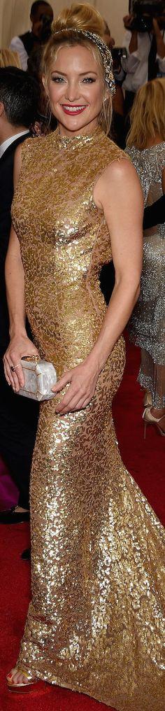 Red Carpet / Met Gala. Kate Hudson in Michael Kors