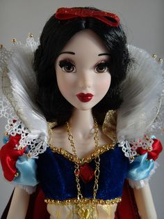"Snow White - ""Disney's Animators"" limited edition. I'm not much into her actually, but this doll's awesome!"