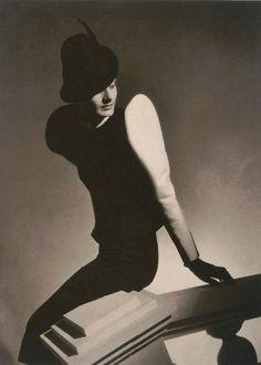 White Sleeve, Fashion Shot with Doris [Lyla] Zelensky, Paris, 1936