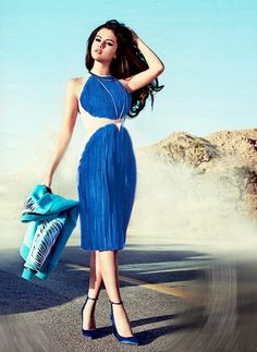 """""""Cocktail chic"""" by Paolina : """"Selena gomez"""" for instyle Magazine June 2013 !!"""