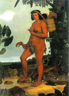 6-india-tapuia-de-albert-eckhout-1642-270-x-160-m Albert Eckhout, Indigenous Tribes, 17th Century, India, Superhero, Painting, Fictional Characters, American, History Of England