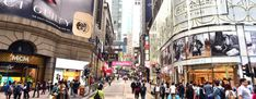 Hong Kong Blames Trade Spat for Worst Retail Sales in 17 Months Central Hong Kong, Go Guide, Latest Fashion Design, Fashion Designers, Italian Fashion, Trade Show, Disneyland, Battle, Retail