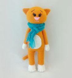 Free crochet cat patterns