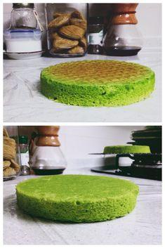Pandan Gula Melaka Layer Cake and Decorating Tips