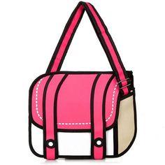 Fashion 2D Cartoon Bag