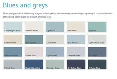 Dulux 'heritage' colours Light Teal or Georgian Grey lovely colours for a bathroom Small Bathroom Colors, Bathroom Color Schemes, Bathroom Paint Colors, Beige Bathroom, Dulux Heritage Colours, Blue Gray Paint, Dulux Paint Colours Blue, Dulux Grey Paint, Scrappy Quilts