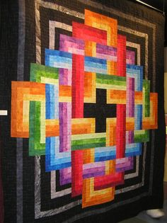 Vortex of Color from 2007 Crossroads Quilt Show  -anyone know where I can get this pattern?