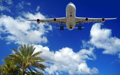 Plane at exotic destination. Plane is about to land at an exotic destination , Air Ticket Booking, Air Tickets, Airplane Photography, Travel Photography, Last Minute Flight Deals, Mens Travel Bag, Airline Travel, Amazing Race, Travel Scrapbook