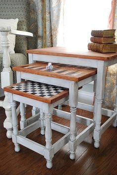 Image result for nest of table backgammon chess