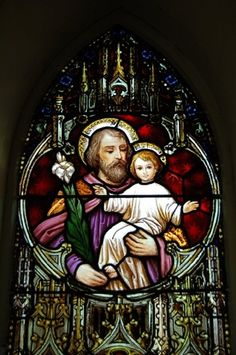 st joseph stained glass windows - Google Search