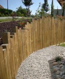 Haie, clôture de jardin en ardoise paillis contemporain | избранное ...