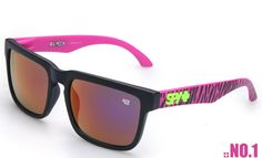 Fashion Spy Optic Sunglasses classic black Spy glasses pink www.sun-glasses.co