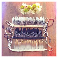 Wild Thing Feather Crown by wildandfreejewelry on Etsy, $45.00