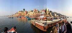 Assi Ghat in Varanasi, Uttar Pradesh