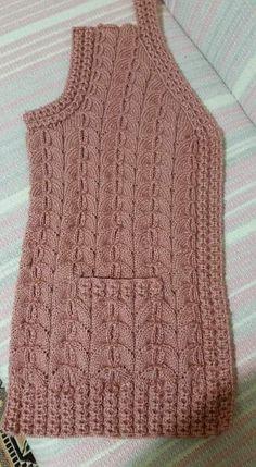 Amanda van Rooyen's media content and analytics Knitting Videos, Baby Knitting Patterns, Knitting Stitches, Knitting Yarn, Hand Knitting, Crochet Designs, Knitting Designs, Knitting Daily, Knit Cardigan Pattern