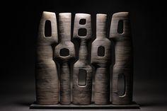 By Sculptor Thierry Martenon Brancusi Sculpture, Wood Sculpture, Thierry Martenon, Sculptures Céramiques, B 13, Contemporary Sculpture, Wooden Art, Abstract Sculpture, Beauty Art