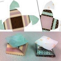 Cassie's Creative Crafts-Another free DIY flower gift box  #free #DIYcrafts #digitalscrapbooking