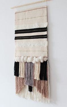 Woven wall hanging  Woven wall art  Woven by weavingmystory