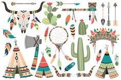 20 Succulents & Cactus Vector / PNG ~ Illustrations on Creative Market
