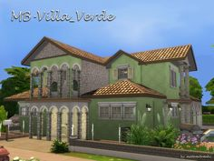The Sims Resource: Villa Verde by matomibotaki • Sims 4 Downloads  Check more at http://sims4downloads.net/the-sims-resource-villa-verde-by-matomibotaki/