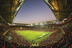 Suncorp Stadium Brisbane Roar v Western Sydney Wanderers A-League Final by Joshua Morton