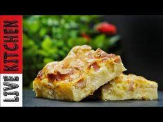 Η πιο εύκολη Ζαμπονοκασερόπιτα (ΑΠΟΛΑΥΣΗ) Amazing Ham & Cheese Pie Live Kitchen - YouTube