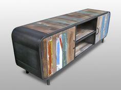 couchtisch aus recyceltem bootsholz 120x70cm unikat. Black Bedroom Furniture Sets. Home Design Ideas