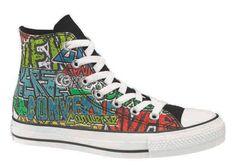 Graffiti Converse