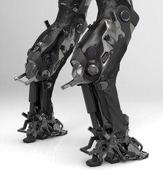 VK is the largest European social network with more than 100 million active users. Robot Concept Art, Armor Concept, Futuristic Armour, Arte Robot, Sci Fi Armor, Arte Cyberpunk, Ex Machina, Robot Design, Mechanical Design