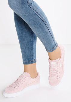 Pedir Puma SUEDE CLASSIC - Zapatillas - silver pink/white por 84,95 € (31/10/16) en Zalando.es, con gastos de envío gratuitos.