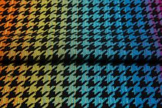 Pepitka rainbow dark #weavingstudio #fabricart #cottonfabric #pepitka #rainbow #teamrainbow