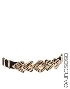 ASOS Curve | Engraved Arrow Waist Belt