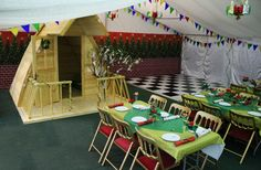 A Gala Tent is ideal for your Christmas Party!