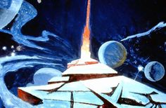 Robert McCall's surreal 1979 concept art for Star Trek: The Motion Picture