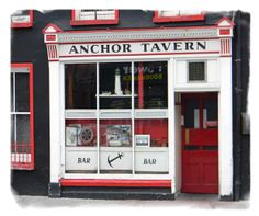 Anchor Tavern Bantry - Click pub photo image above to purchase your #Pubs of #Ireland Photo Print with PayPal. You do not need a PayPal account to purchase photo. Pubs of Ireland photos are perfect to display in any sitting room, family room, or den to celebrate a family's Irish heritage. $9.00 (plus $5 shipping & handling in USA) ~ 8 x 10 High Quality, High Resolution Authentic Photos Professionally Shot on Location in Ireland and Printed on Professional Fuji Film Photo Print Paper.