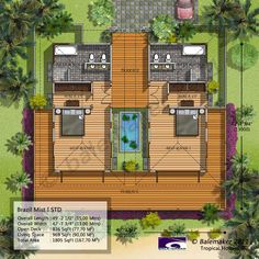 from bali with love: tropical house plans (from bali with love