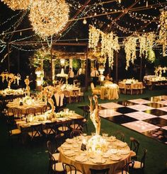 outside night wedding - Google Search