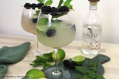 Godt nytår - med to skønne gin cocktails Gin, Cocktail Drinks, Cocktails, Recipe For Teens, Exotic Food, Pineapple Juice, Pina Colada, Quick Recipes, Clean Eating Snacks
