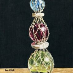 This Marine Realism Still life , Canvas - Gallery wrap 1 - Acrylic Paintings painting was produced by Alison Philpott. Plant Hanger, Still Life, Canvas, Drawings, Plants, Fishing, Inspire, Painting, Inspiration
