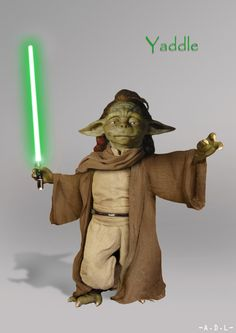 """The Jedi Master is the same race as the Yoda of woman named Yaddle who had emerged as one of the Jedi councilor in the """"Episode 1"""""""