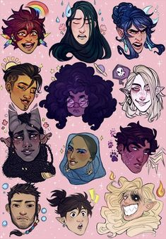 Fantasting Drawing Hairstyles For Characters Ideas. Amazing Drawing Hairstyles For Characters Ideas. Art And Illustration, Character Illustration, Illustrations, Kunst Inspo, Art Inspo, Fantasy Kunst, Fantasy Art, Pretty Art, Cute Art