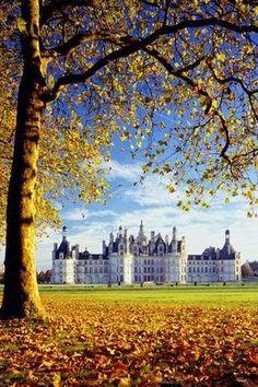 Chateau de Chanbord - #LoiretCher #France