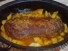 Greek Recipes, Meat Recipes, Cooking Recipes, Healthy Recipes, Recipies, Meat Meals, Tasty Dishes, Food Dishes, Main Dishes
