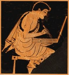 If you like to dip into a little classical literature (with translations), take a look HERE Ancient Greek Art, Ancient Greece, Greek Paintings, Greek Pottery, Black Figure, Greek Culture, Western World, History Education, Minoan